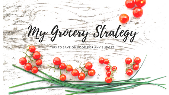 My grocery strategy